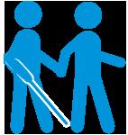 Transport de personnes à mobilité réduite PMR - Mal voyant - Blagnac Toulouse 31