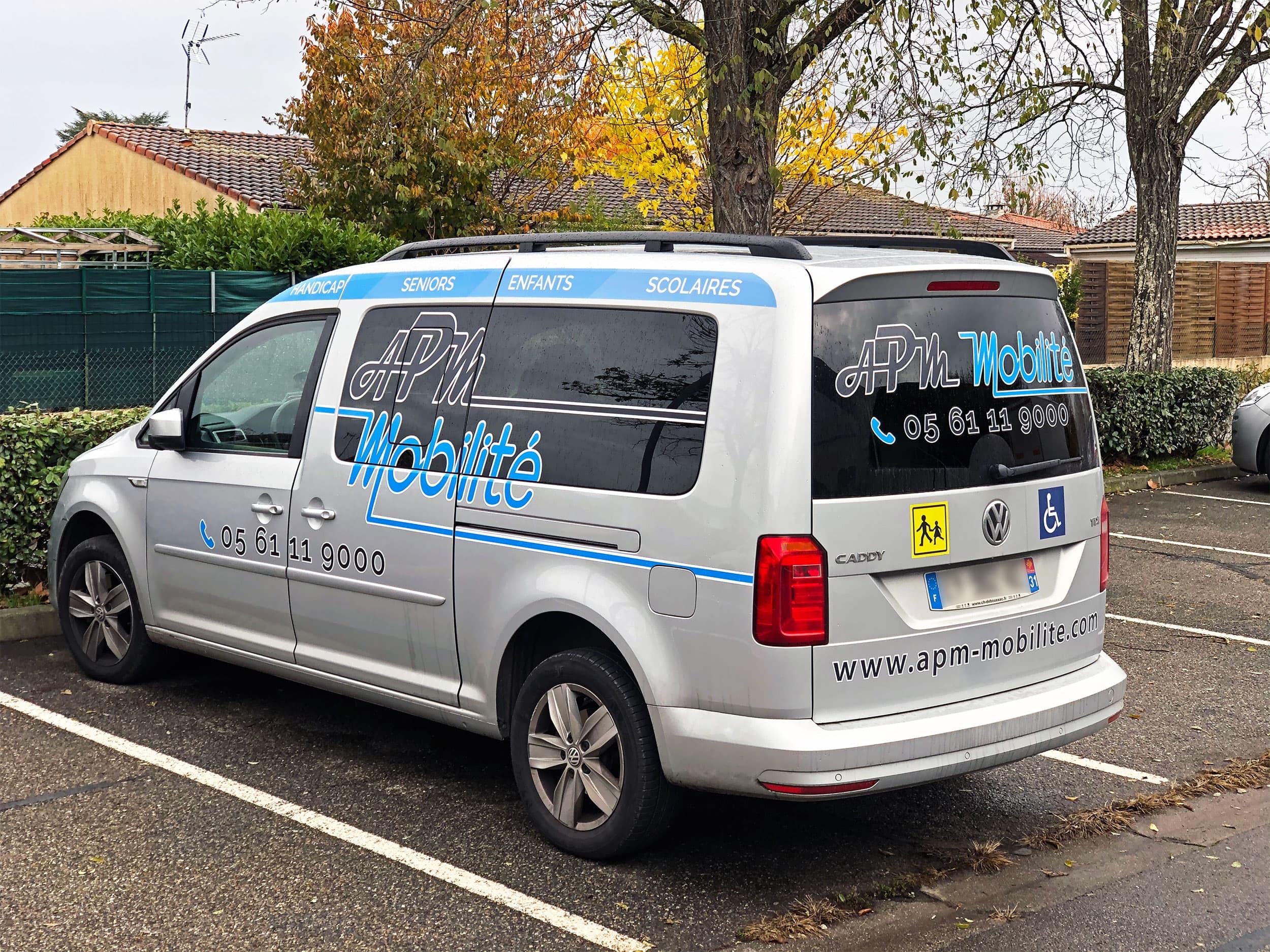 Transport de personnes à mobilité réduite PMR - Véhicules de qualité - Blagnac Toulouse 31